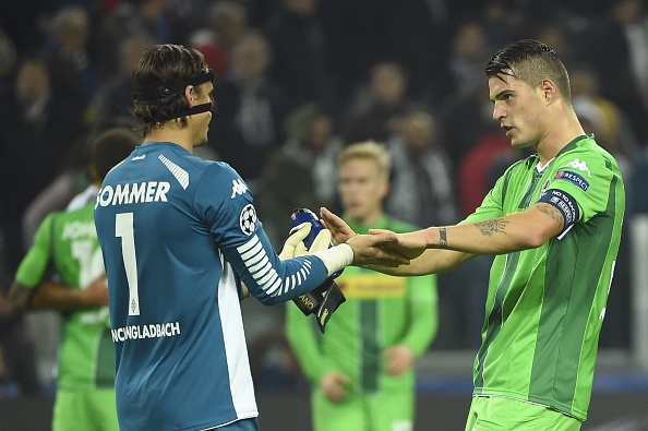 Yann Sommer and Granit Xhaka