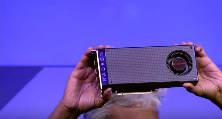 AMD Radeon RX 480 card
