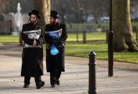 Jewish men in north London