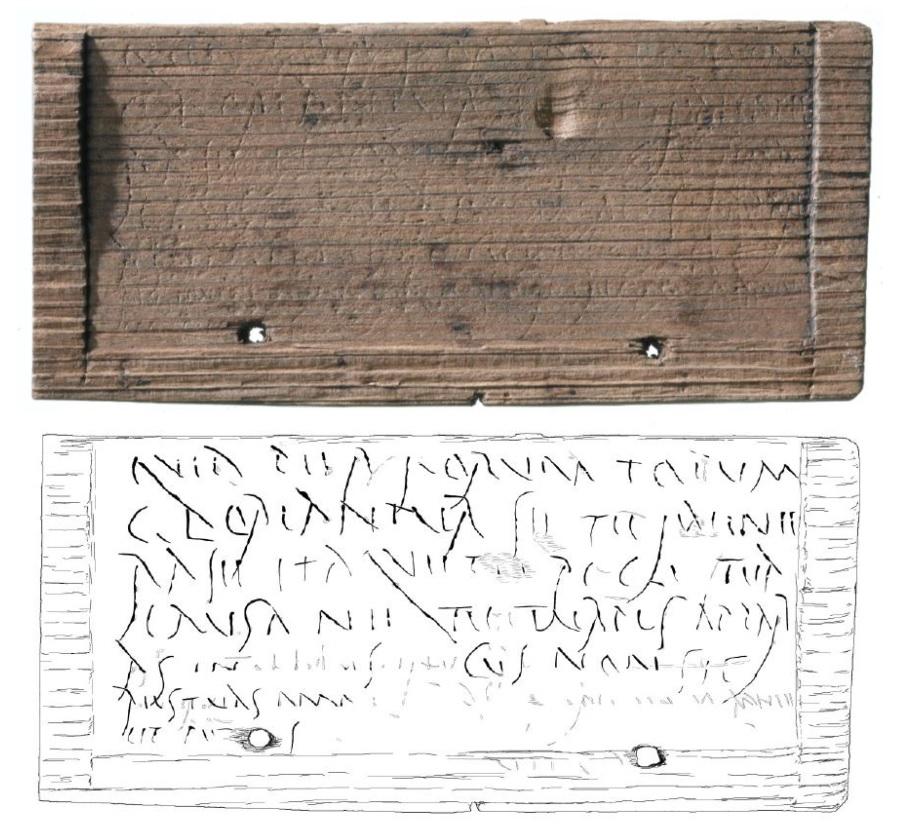 earliest hand written london roman