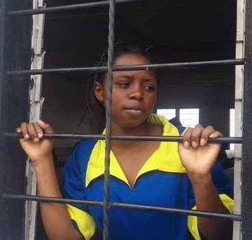 Rebecca Kabugho, jailed activist in the DRC