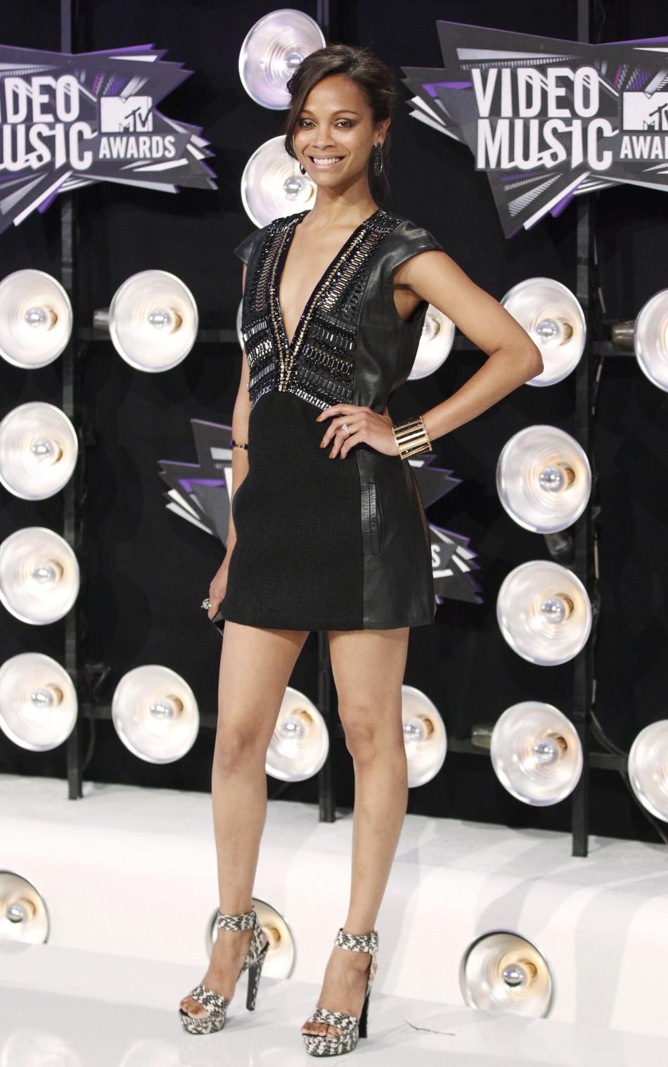 9.Zoe Saldana
