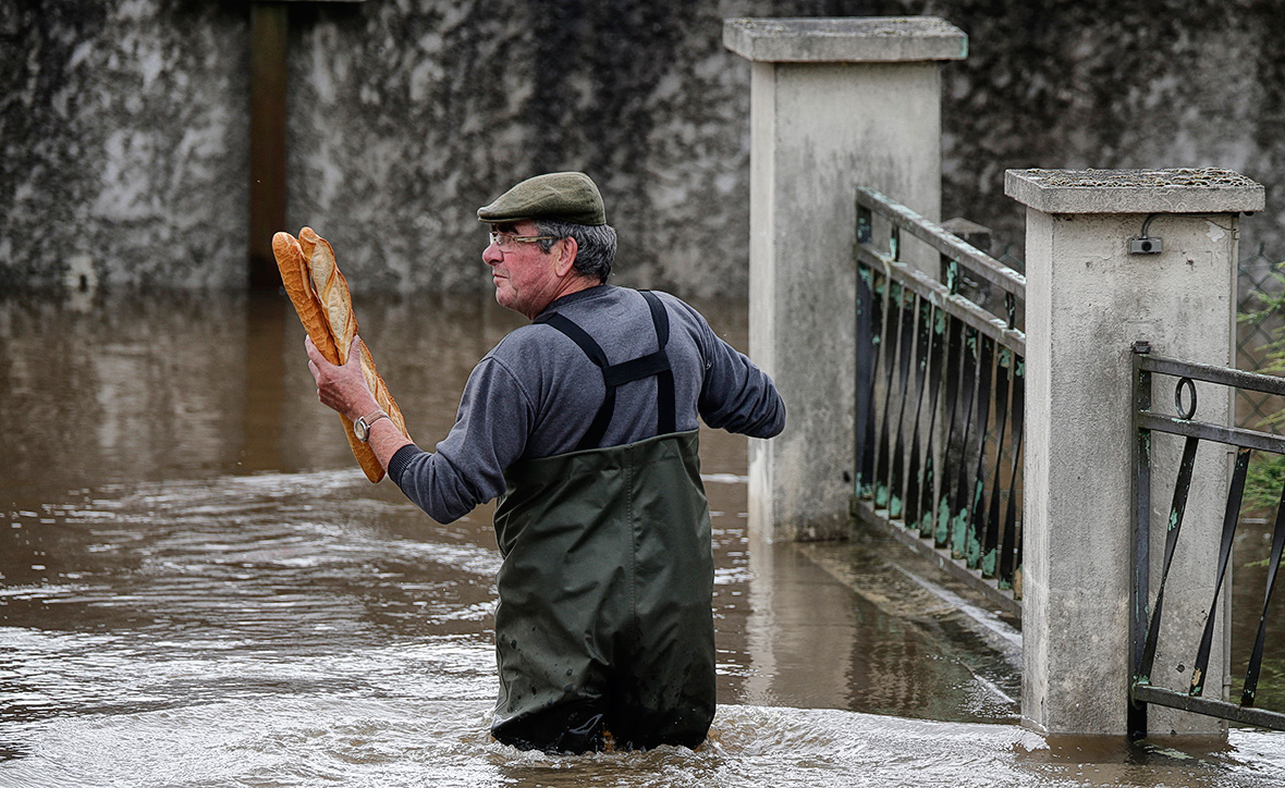 Alerte - Crues et Inondations 2016 France-weather