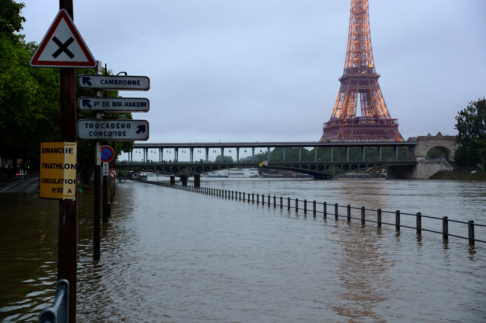 Floods Paris