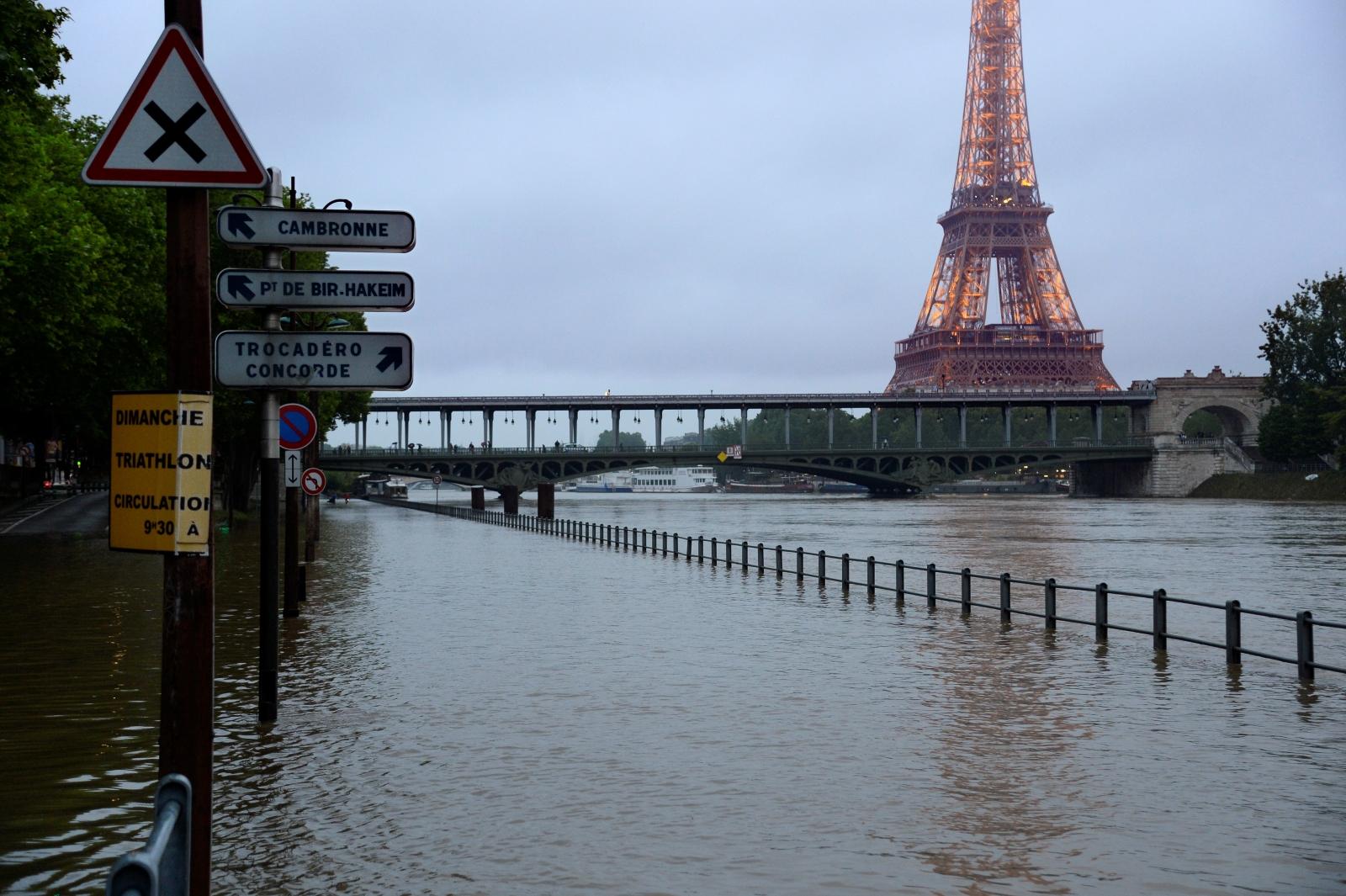 Floods Paris