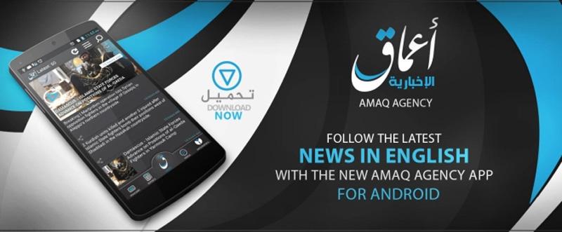 Amaq News agency app
