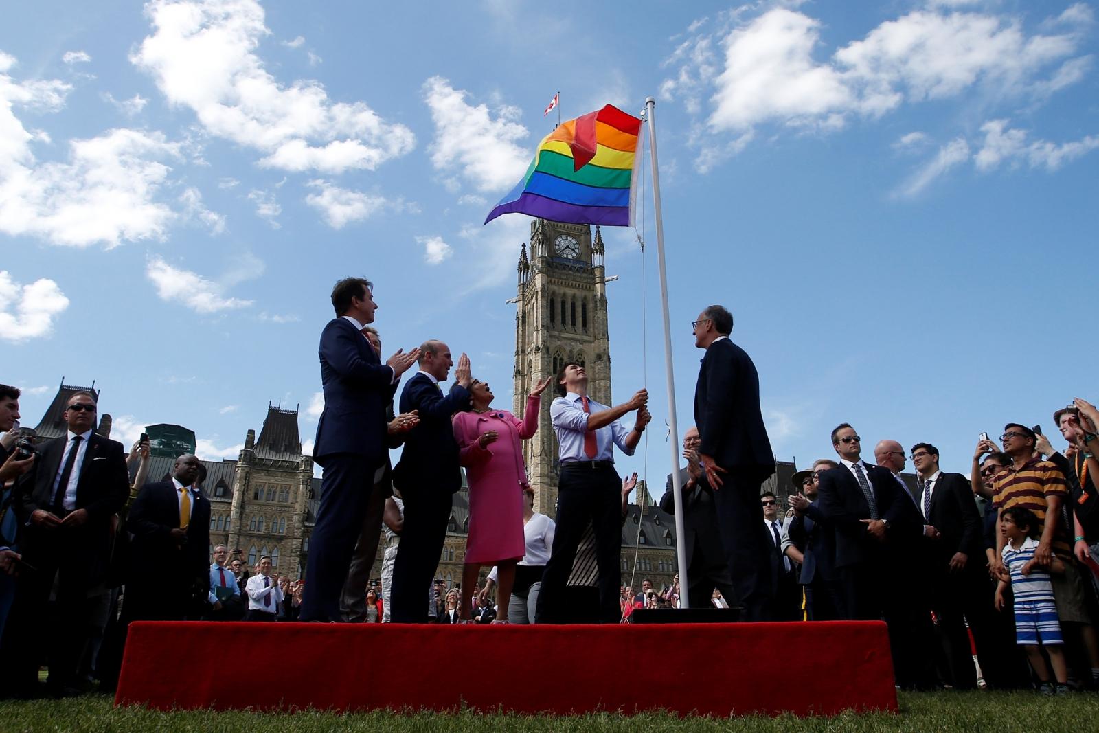 Pride Flag, Parliament Hill