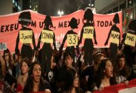 Brazil rape protests