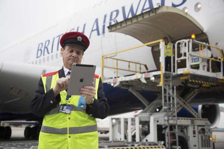 British Airways iPad Apple
