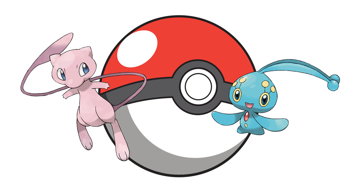 Pokemon Mew and Manaphy event