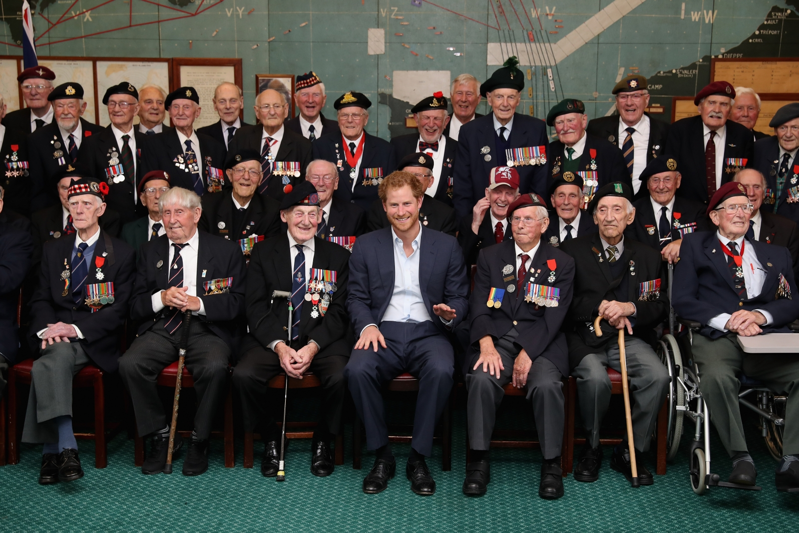 Prince Harry, Normandy Veterans