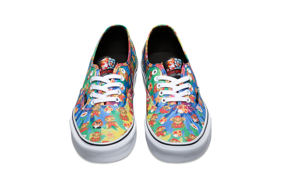 Nintendo Vans low tops