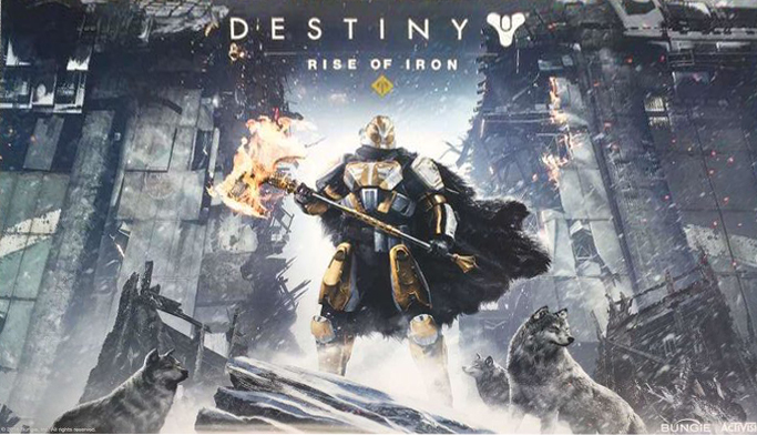 Destiny Rise of Iron Expansion DLC