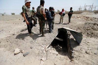 ISIS tunnels