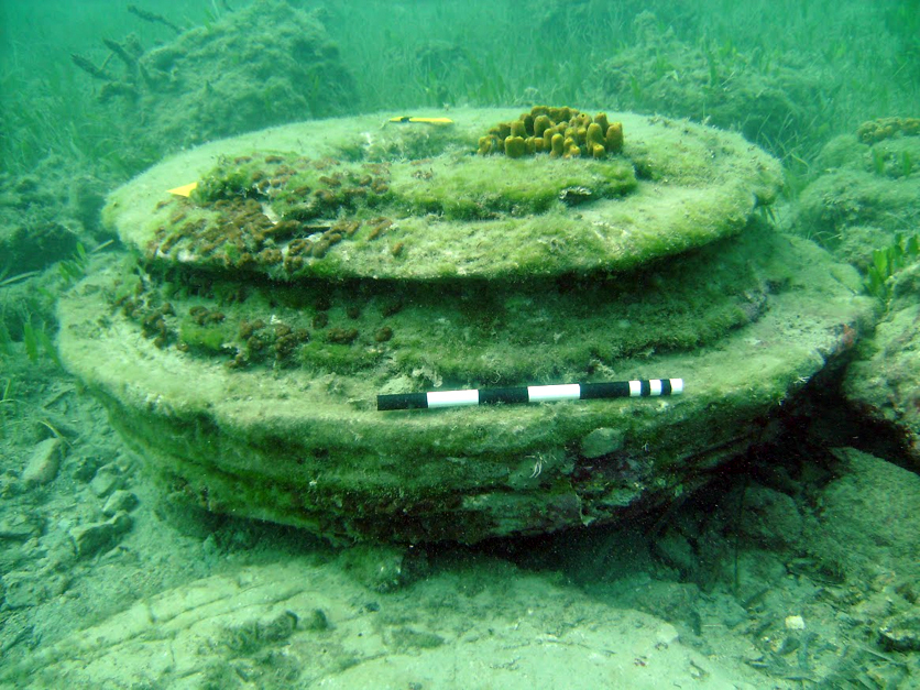 ancient underwater city greece