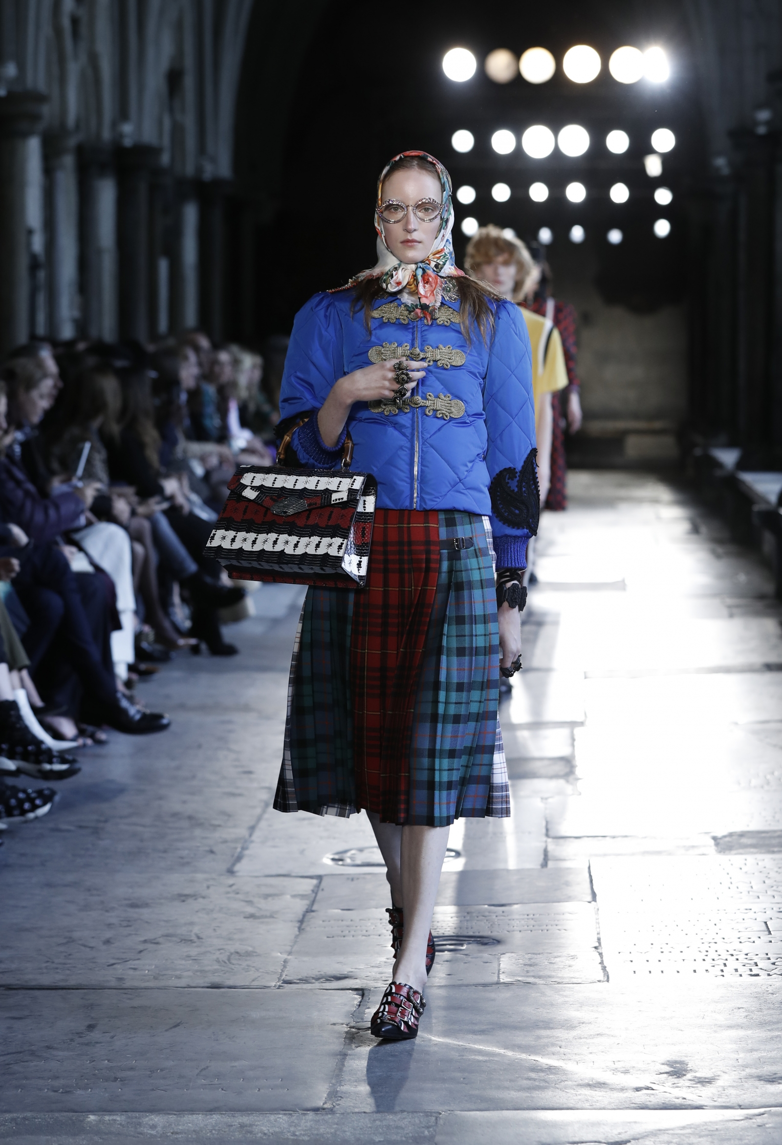Gucci at Westminster Abbey