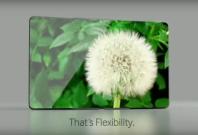 Samung Galaxy X flexible phone concept