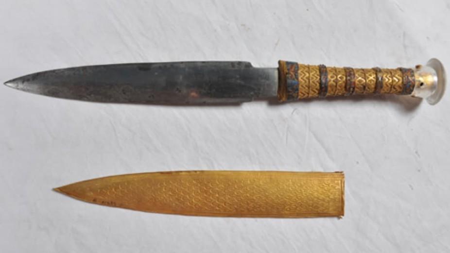 tutankhamun meteorite dagger
