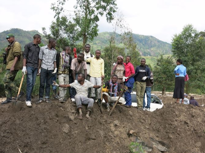 LUCHA activists in South Kivu, DRC