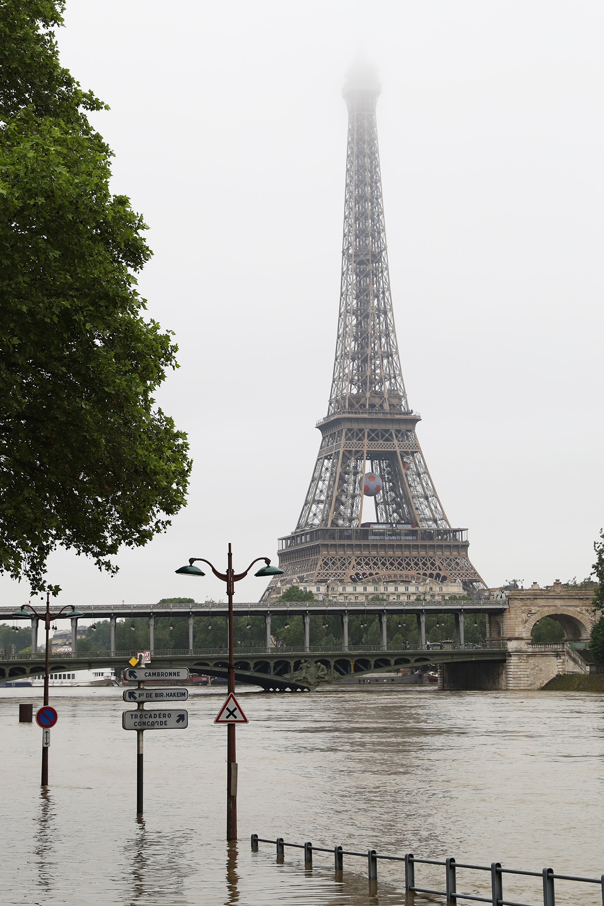 Paris floods