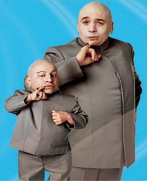 Dr Evil and Mini Me