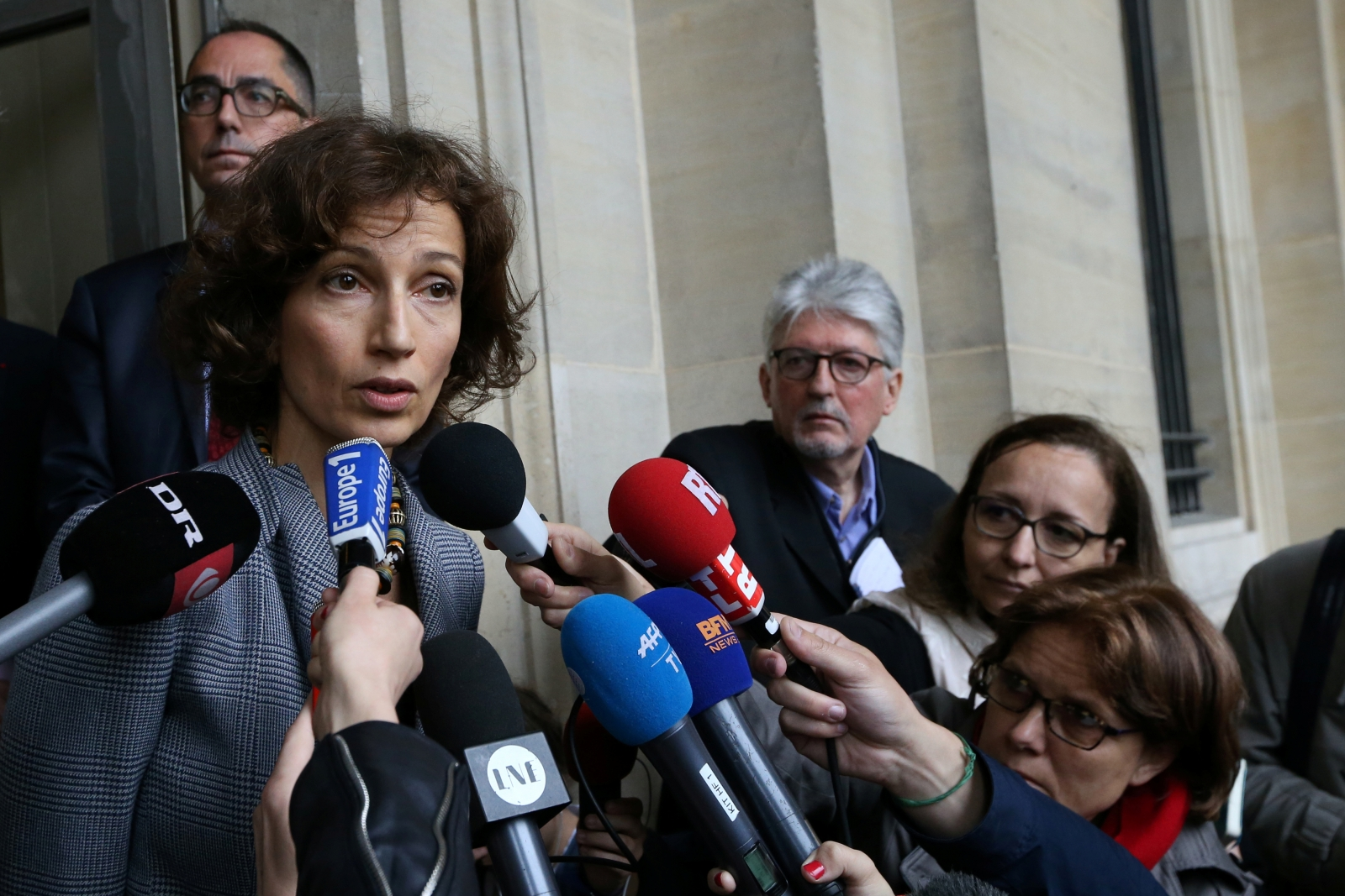 French Culture Minister Audrey Azoulay