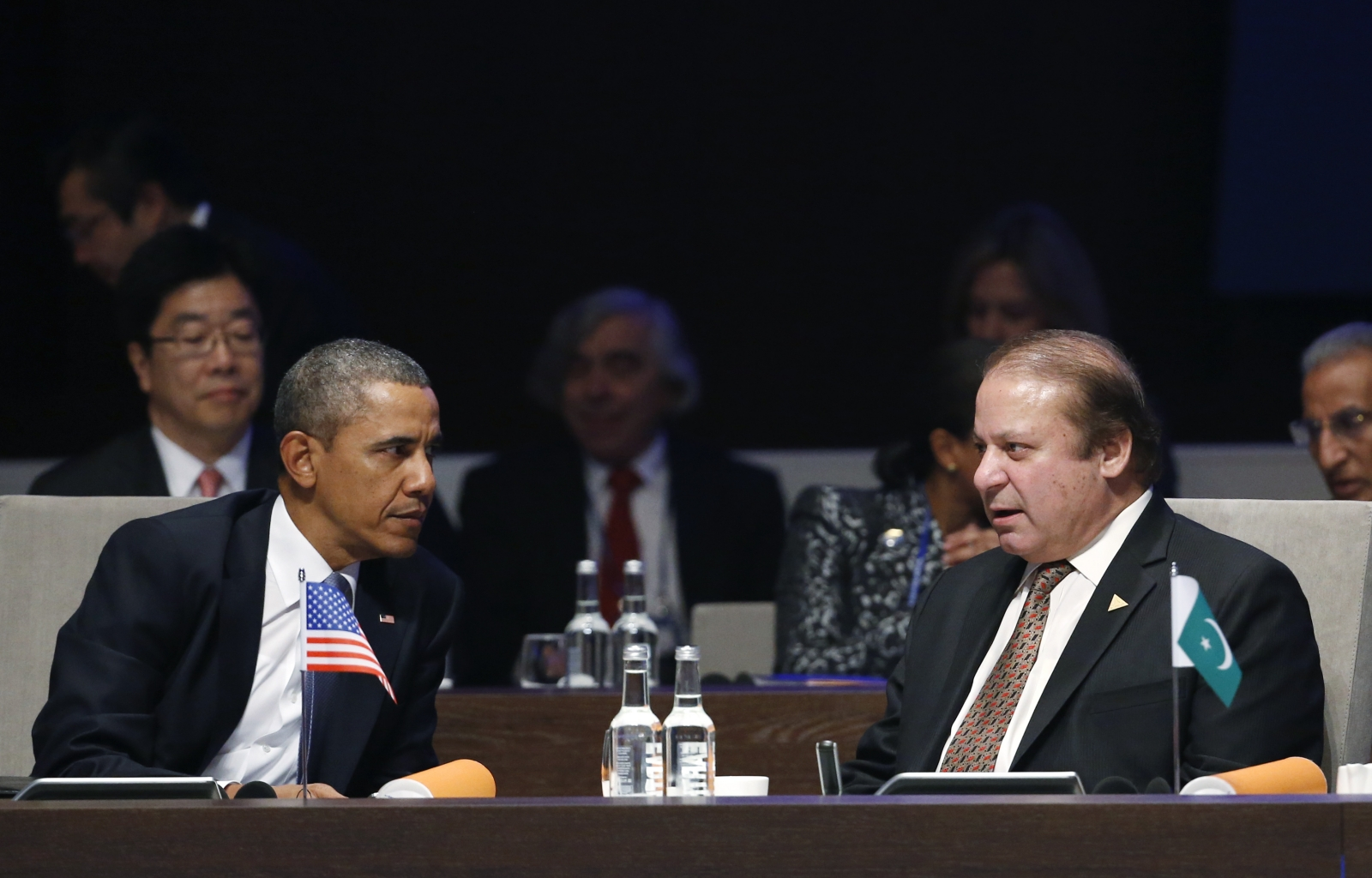 Obama and Pakistan Prime Minister