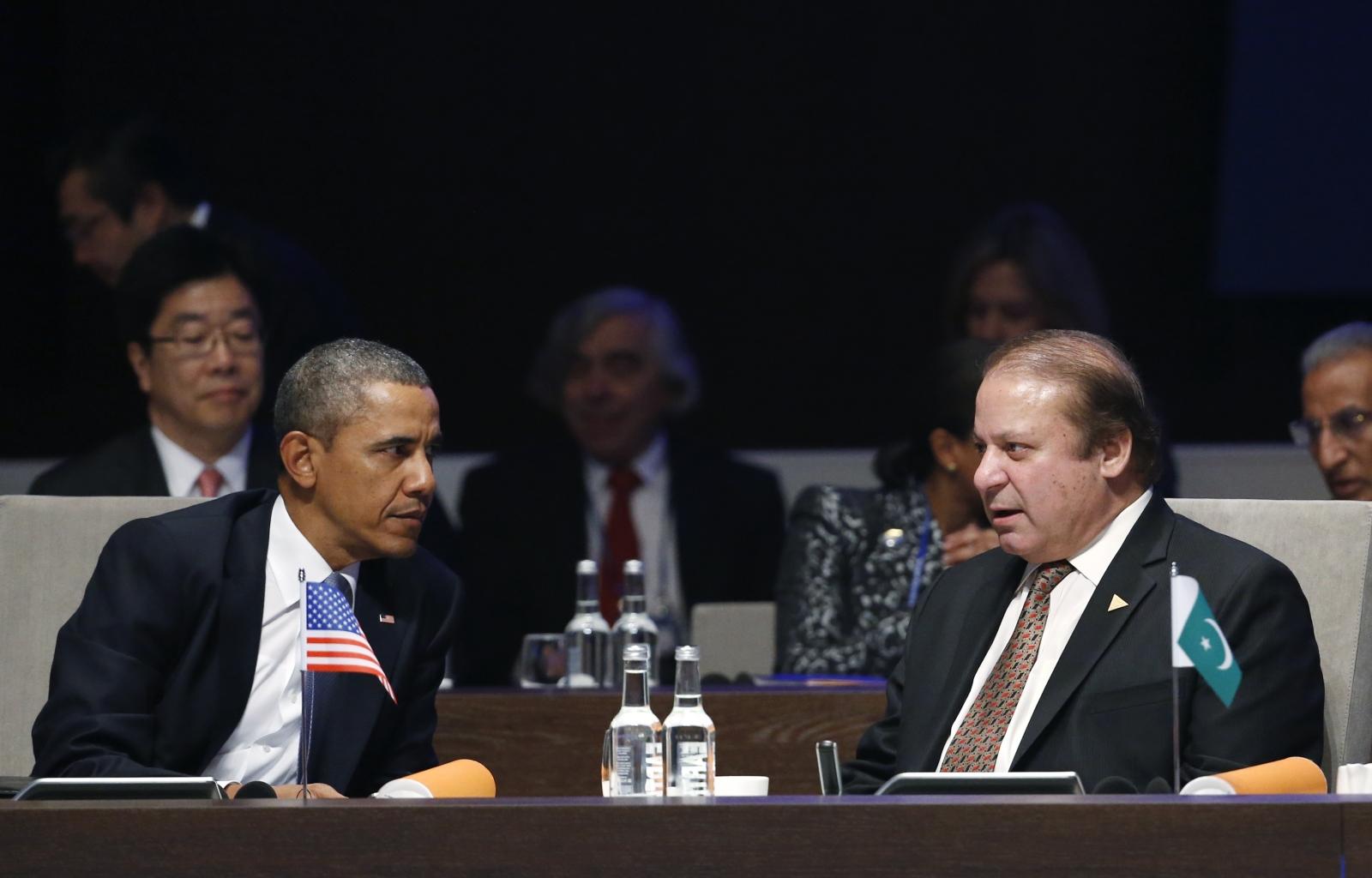 Obama and Pakistan Prime Minister