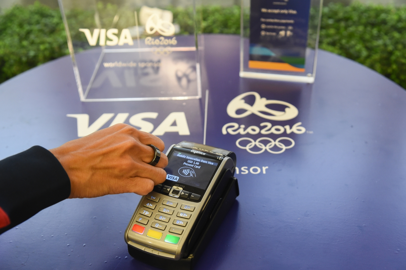 Visa launching NFC payments ring