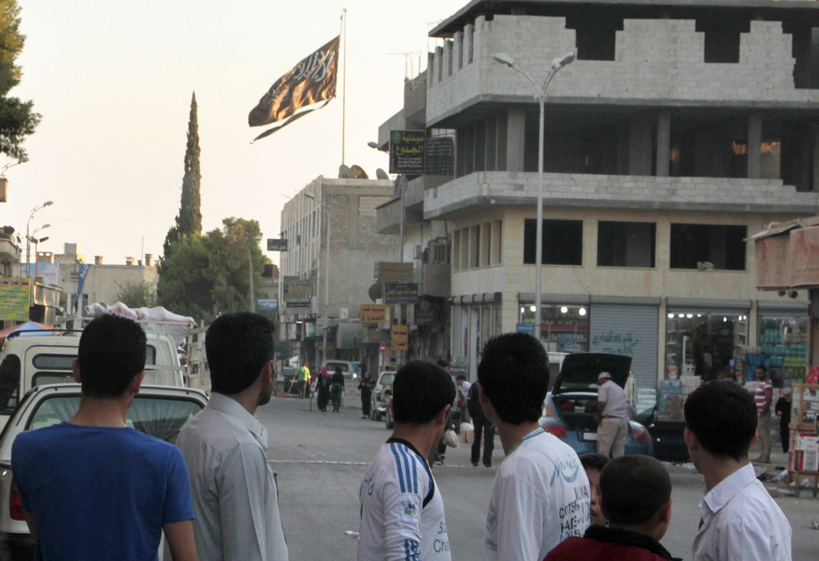 Isis capital of Raqqa