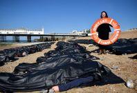 Brighton refugee protest