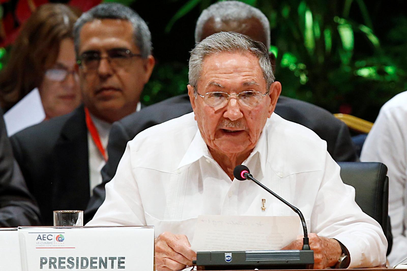 Cuba Raul Castro OAS