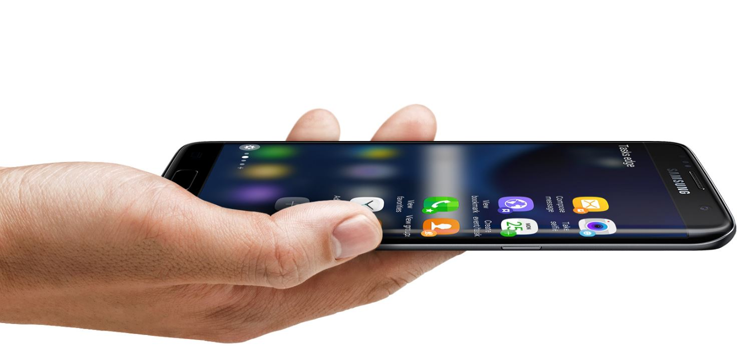 Galaxy S7 Edge screen features