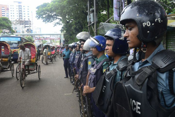 Bangladesh policemen