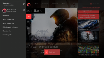 Xbox One Anniversary Dashboard