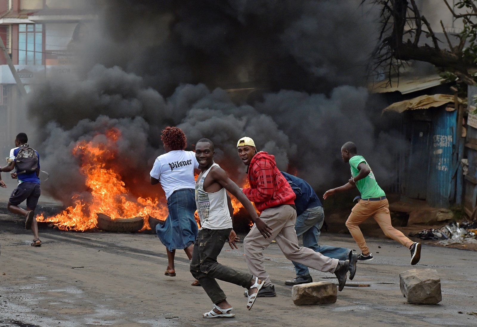 Protests in Kenya