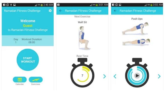 Ramadan Fitness Challenge