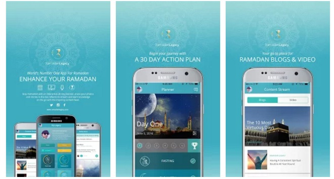 Ramadan Legacy app