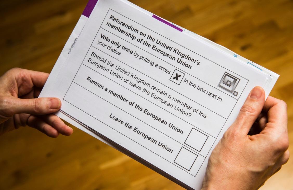 EU referendum ballot paper