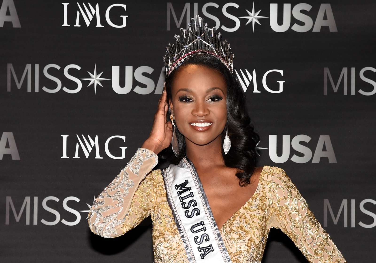 Miss District of Columbia Deshauna Barber