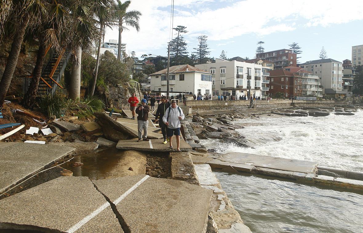 Australia weather Sydney storms
