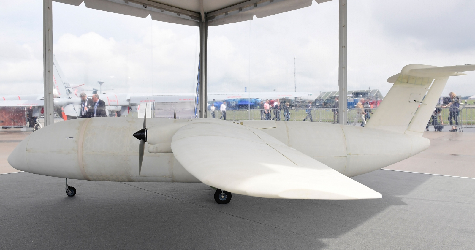 Airbus Thor 3D printed mini plane