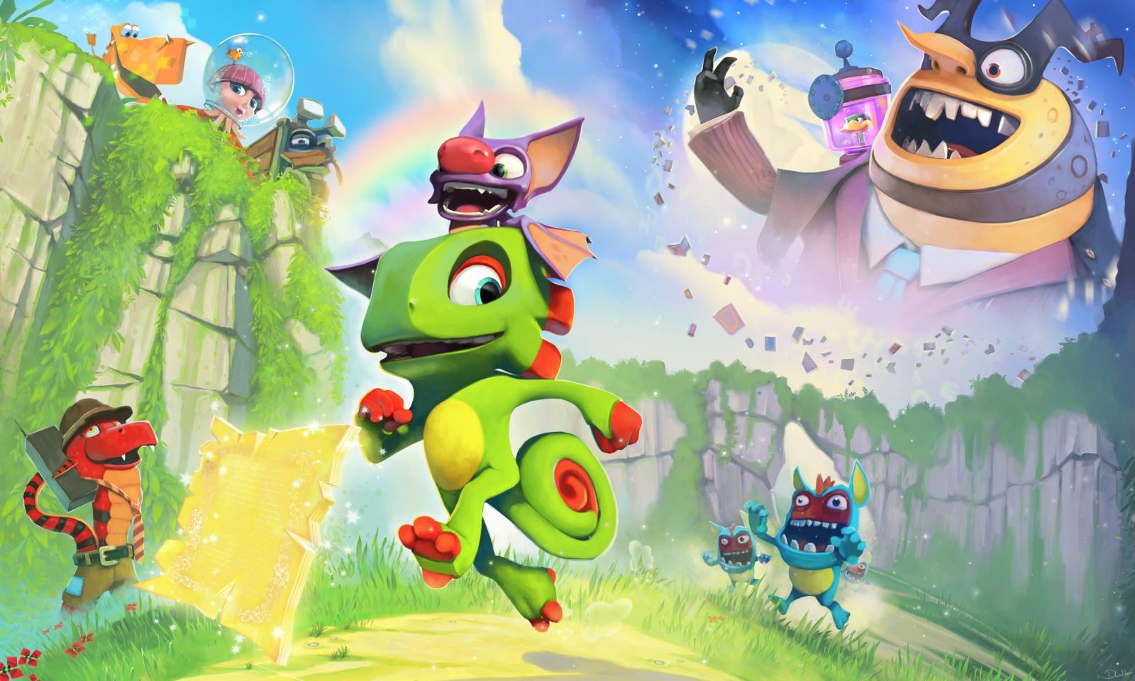 Yooka Laylee Screenshot