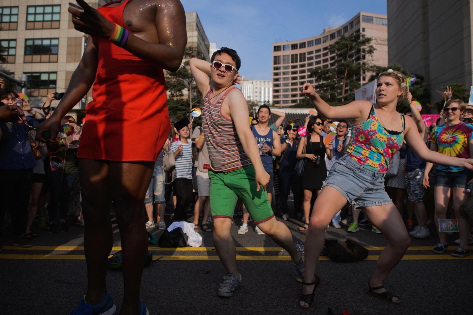 LGBT pride Seoul