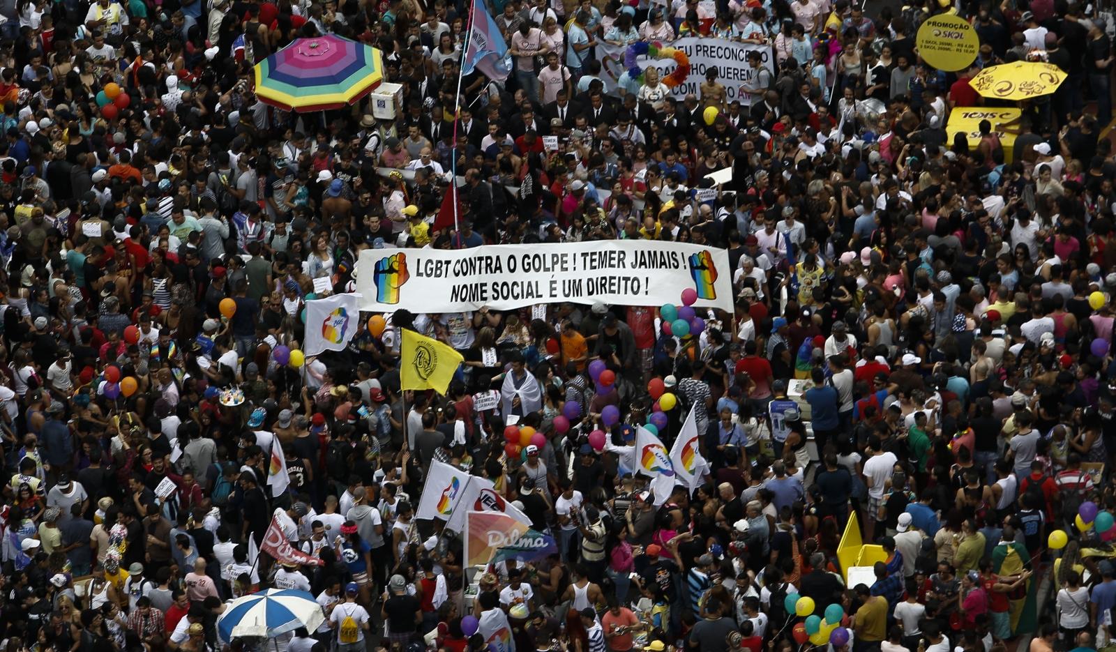 Sao Paulo LGBT pride