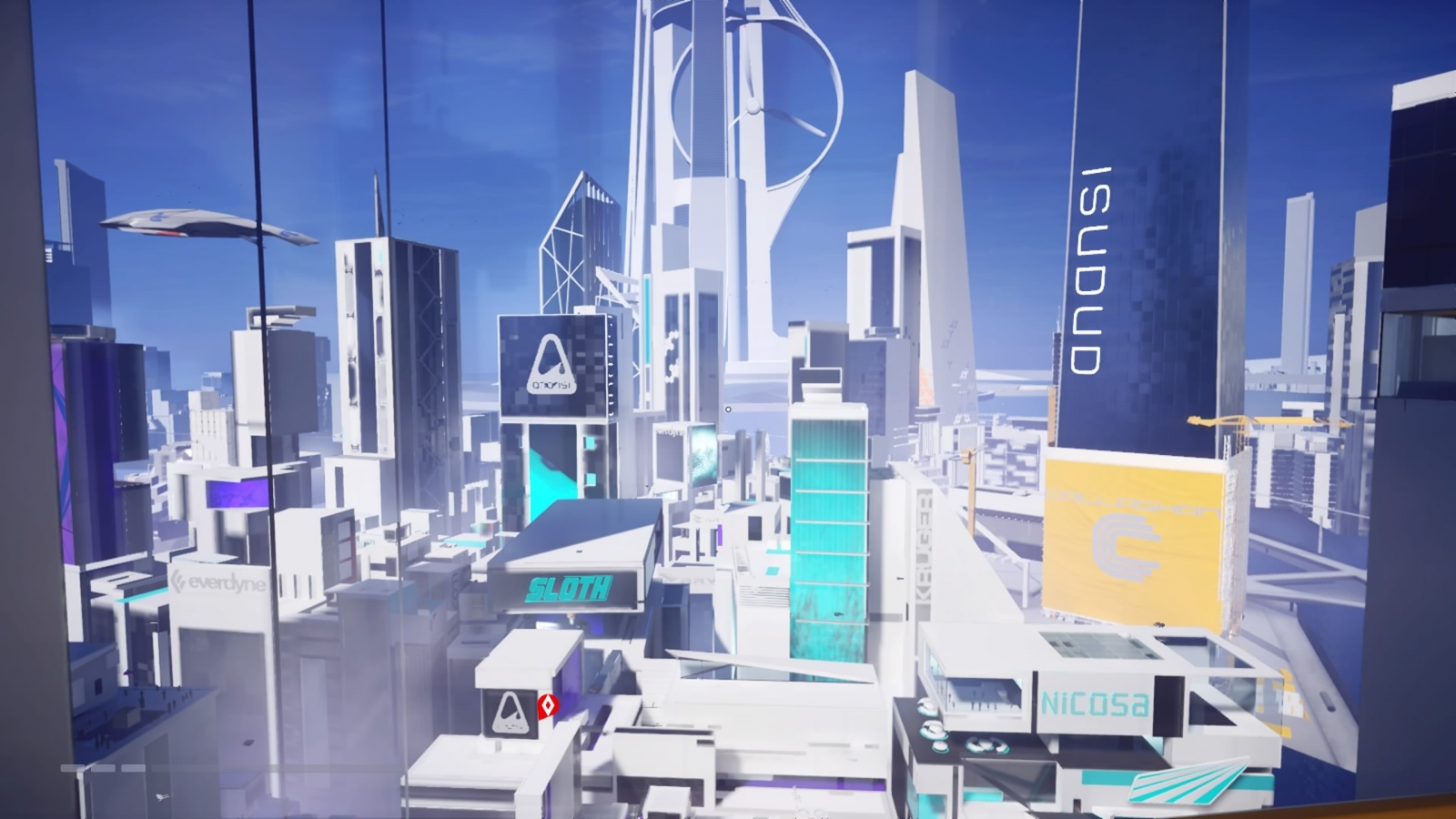 Mirrors Edge Catalyst City of Glass