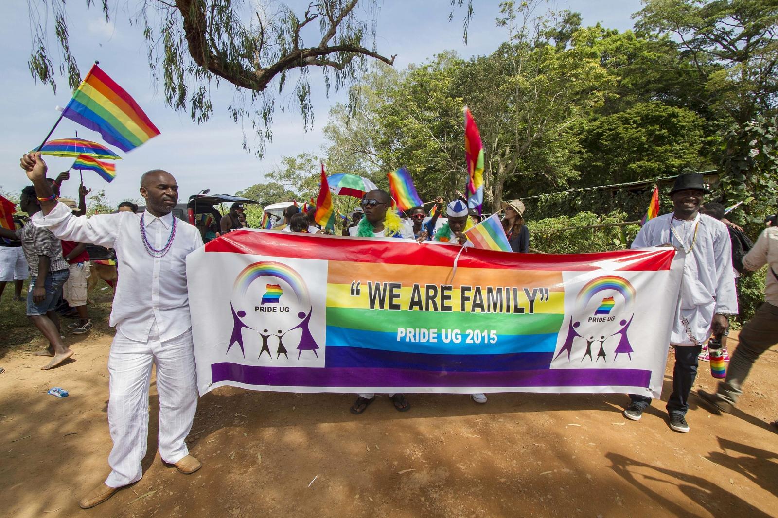 Uganda LGBT pride