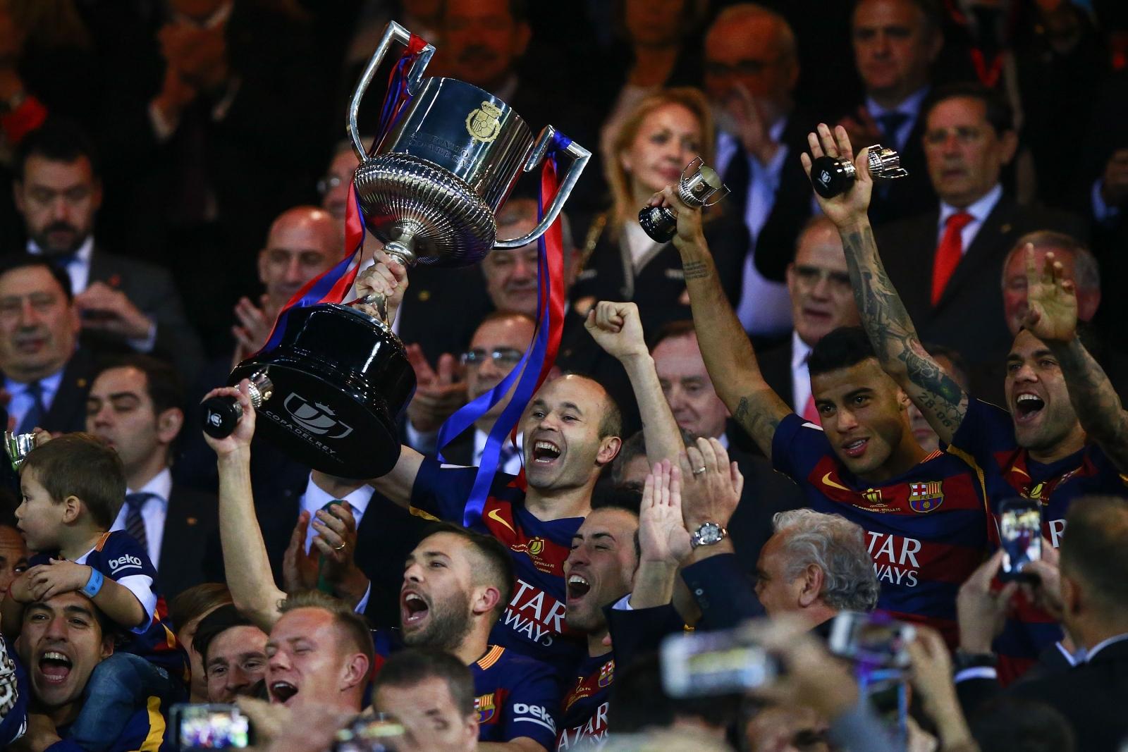 Barcelona win Copa del Rey