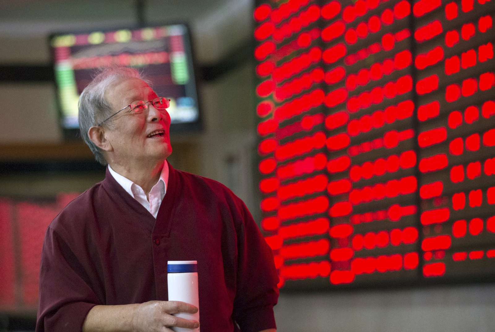 Barring the Shanghai Composite, Asian stock market indices gain following Yellen's comments