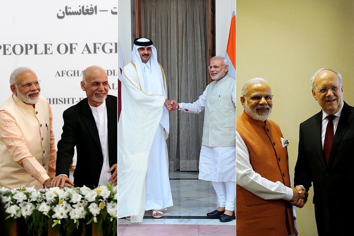 Modi five-nation visit